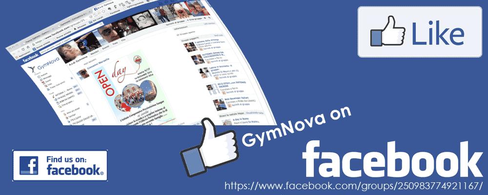 Gymnova su Facebook